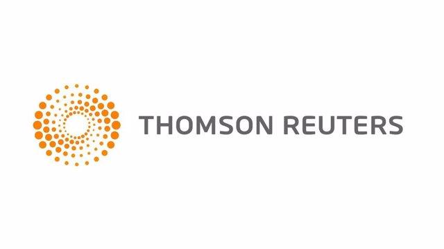 Archivo - Logo de Thomson Reuters.
