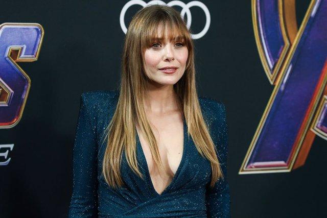 Elizabeth Olsen Premiere de Vengadores: Endgame