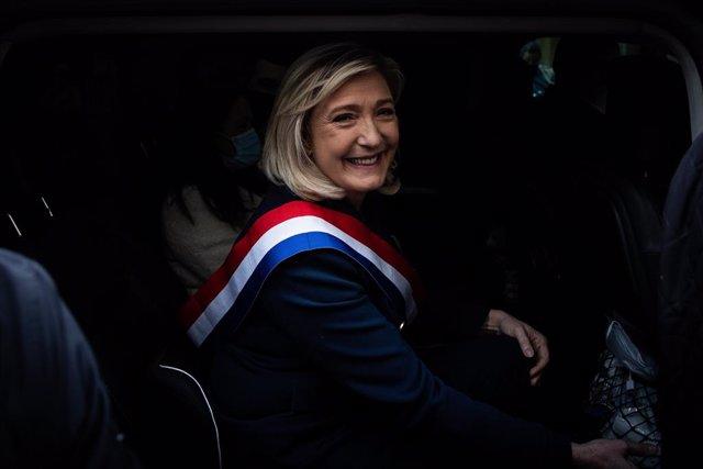 Arxiu - Marine Le Pen, líder d'Agrupació Nacional.