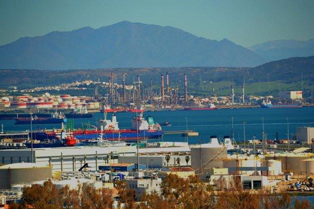 Archivo - Bahía de Algeciras