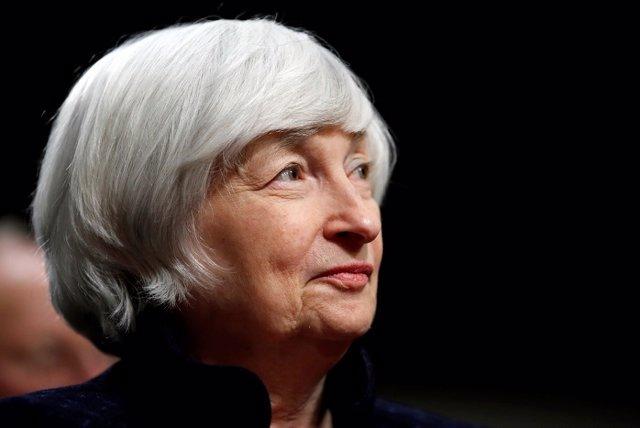 Archivo - La secretaria del Departamento del Tesoro de EEUU, Janet Yellen.