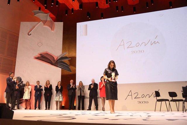 Archivo - El Auditorio de la Diputación de Alicante (ADDA) acogerá el jueves 13 el Premio Azorín de Novela 2021