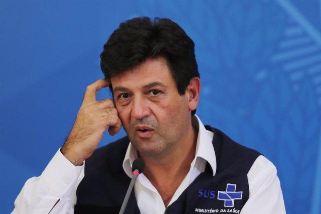 El exministro de Salud de Brasil, Luiz Henrique Mandetta