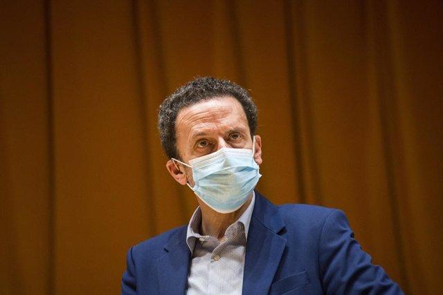 Imatge de recurs del candidat de Ciudadanos (Cs) a la Presidència de la Comunitat de Madrid, Edmundo Bal.