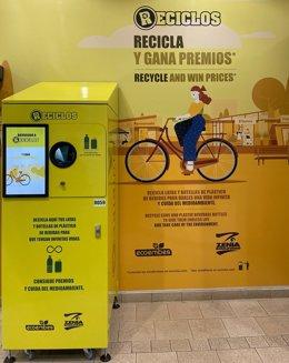 Máquina de reciclaje RECICLOS.