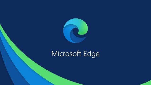 Archivo - Logo de Microsoft Edge basado en Chromium.