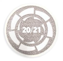 Parche distintivo que llevará el equipo ganador de LaLiga SmartBank en la manga derecha de su camiseta a partir de la temporada 2021/22