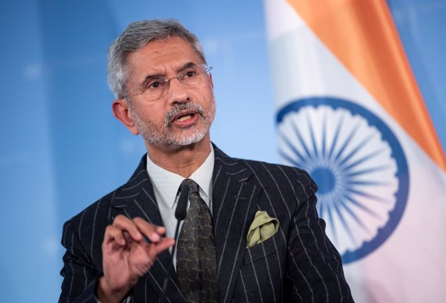 Archivo - 19 February 2020, Berlin: Indian Foreign Minister Subrahmanyam Jaishankar and German counterpart Heiko Maas (not pictured) hold a joint press conference following their meeting at the Federal Foreign Office. Photo: Bernd von Jutrczenka/dpa