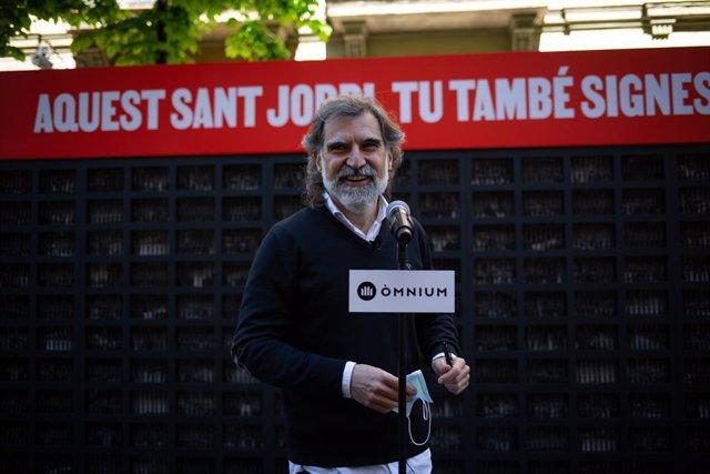 Arxiu - El president d'Òmnium, Jordi Cuixart.