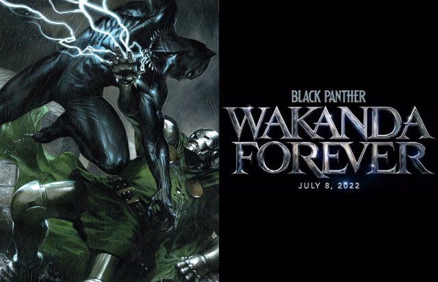 ¿Doctor Doom En El Logo De Black Panther 2: Wakanda Forever?
