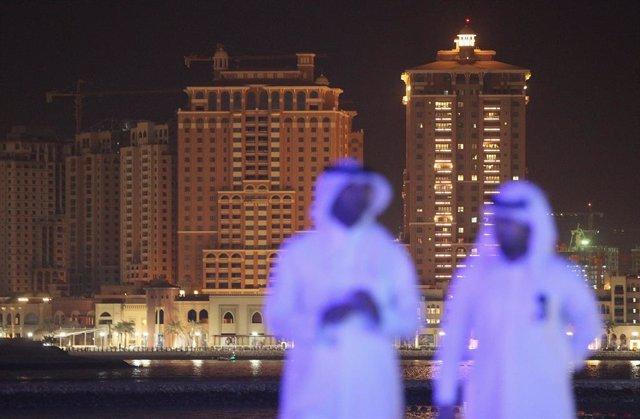 Archivo - Nuevas construcciones en Qatar y desarrollo de Doha como organizador del Mundial de fútbol de 2022