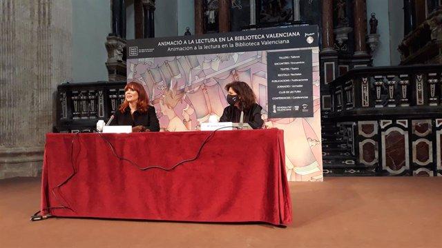 L'artista Paula Bonet en la Trobada d'Escriptors de la Biblioteca Valenciana