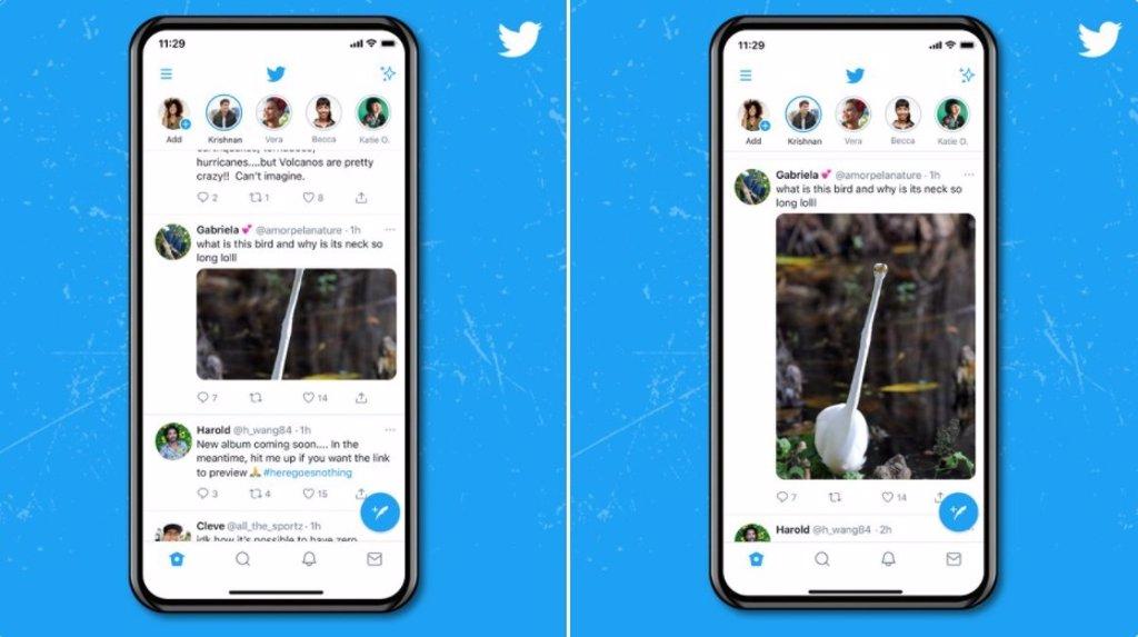 Twitter ya muestra la previsualización de imágenes a tamaño completo