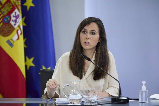Arxiu - La ministra de Drets Socials i Agenda 2030, Ione Belarra.