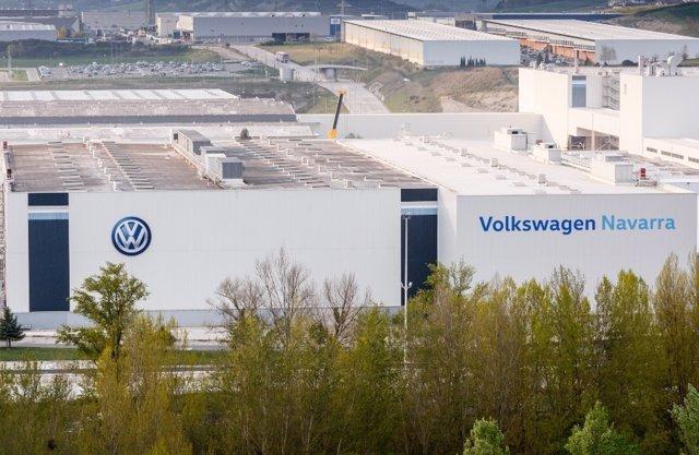 Archivo - Planta de Volkswagen en Navarra