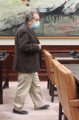 Archivo - El Defensor del Pueblo en funciones, Francisco Fernández Marugán, a su llegada a la Comisión Mixta de Relaciones con el Defensor del Pueblo en el Congreso de los Diputados, en Madrid, (España)