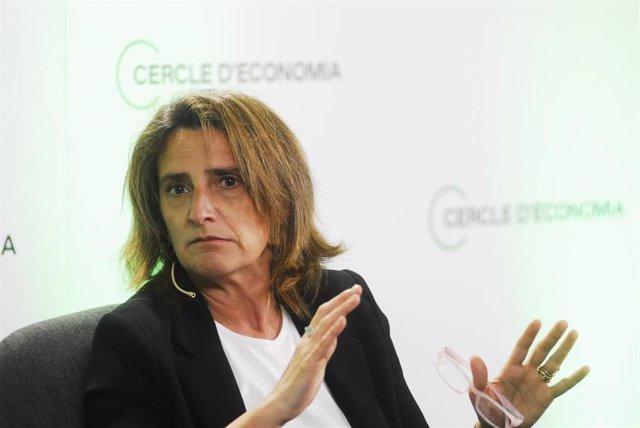 Archivo - La vicepresidenta cuarta y ministra para la Transición Ecológica del Gobierno, Teresa Ribera
