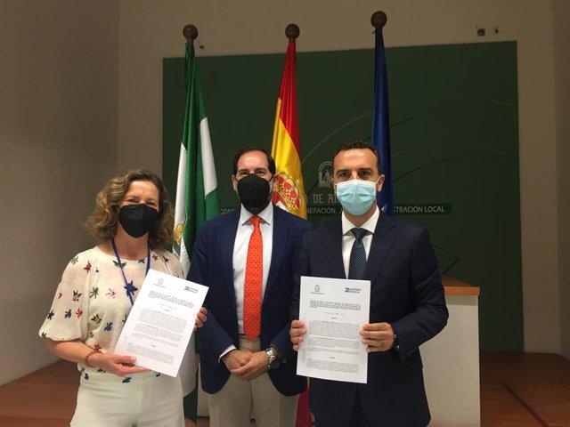 Justicia firma un convenio con Autismo Sevilla
