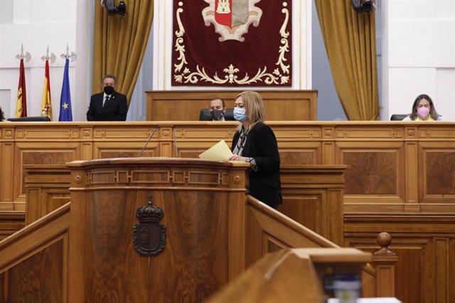 La presidenta del Grupo Parlamentario Ciudadanos, Carmen Picazo,
