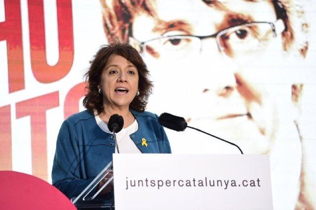 Archivo - Arxiu - L'alcaldessa de Vic Anna Erra (JxCat).