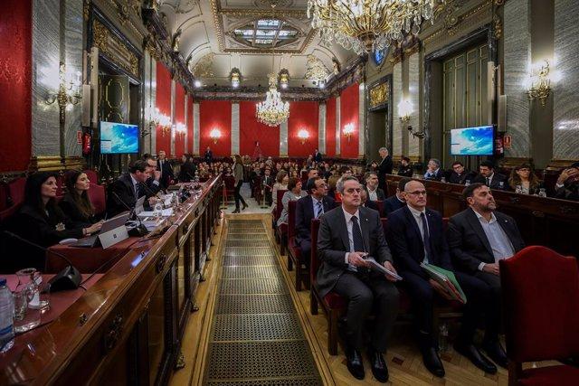 Archivo - Arxiu - Judici del procés al Tribunal Suprem.