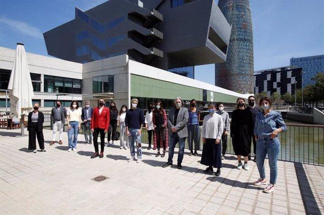 Arxiu - Presentació del Barcelona Fashion Forward.