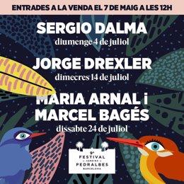 Archivo - Arxiu - Incorporacions en el cartell del Festival Jardins Pedralbes.