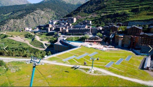 Arxiu - Vista de la plataforma de Soldeu, on se celebrarà l'Andorran Mountain Music.