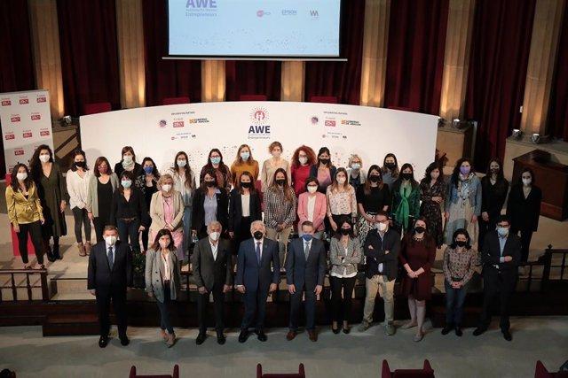 Foment i el Consolat dels EUA a Barcelona anuncien les 30 dones finalistes de la beca AWE.