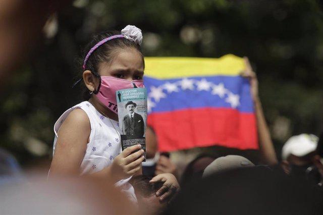 Concentración del pueblo de Venezuela en abril de 2021