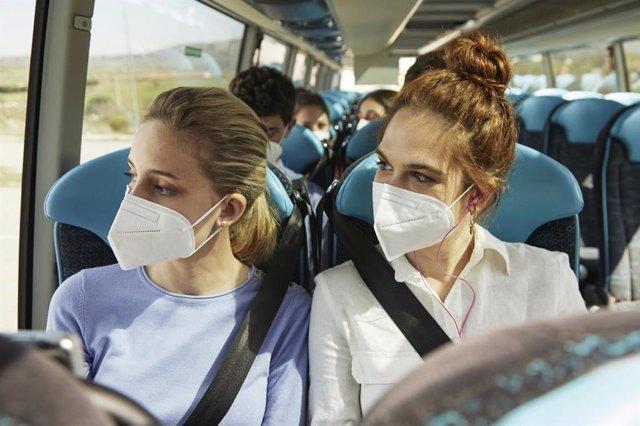 El aire en el interior de los autobuses de Alsa se renueva completamente como mínimo cada tres minutos
