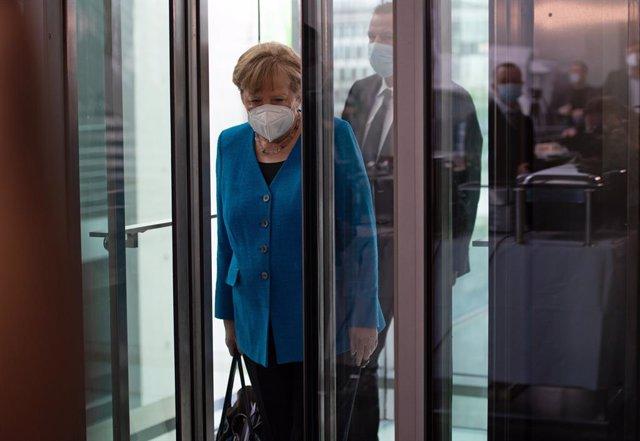 Arxiu - Angela Merkel, cancellera d'Alemanya.