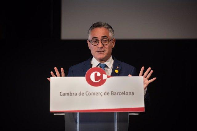 Arxiu - El conseller d'Empresa i Coneixement de la Generalitat, Ramon Tremosa.
