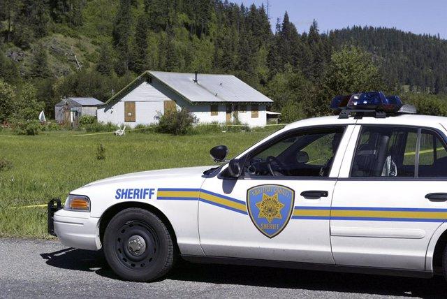 Archivo - Arxiu - Imatge d'un vehicle de les forces de seguretat d'Idaho.