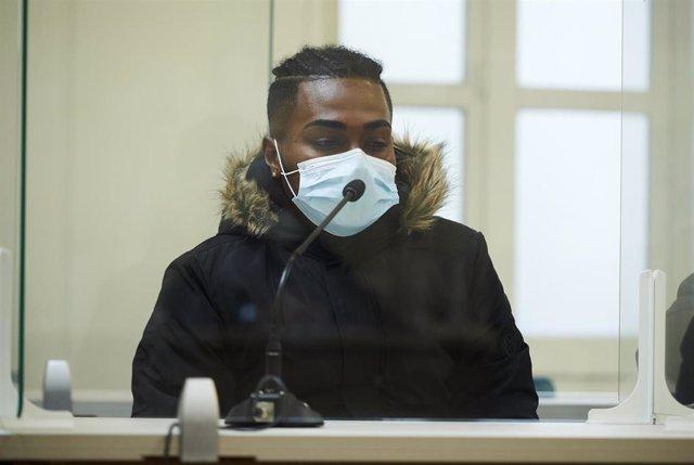 El autor confeso del crimen machista registrado en Laredo en 2019 durante el juicio.