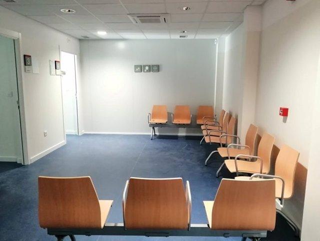 Archivo - Imagen de la sala de espera del nuevo módulo asistencial