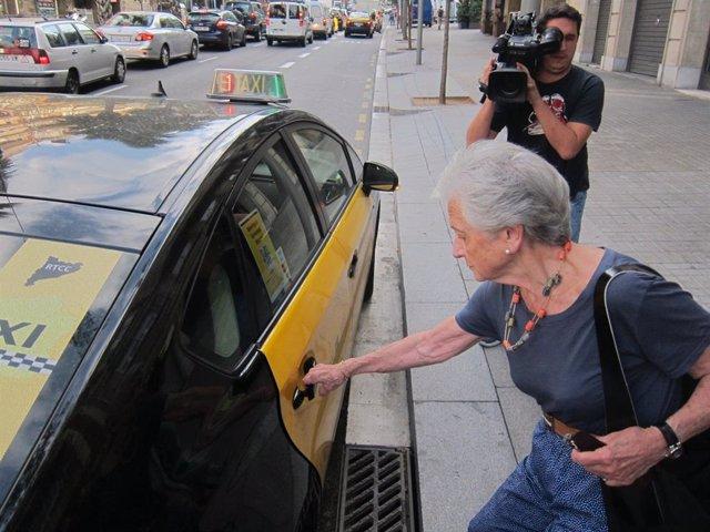 Archivo - Arxiu - La dona de l'expresident de la Generalitat Jordi Pujol, Marta Ferrusola.