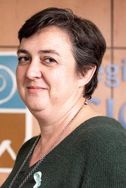 Aurora Araujo Narváez, decana del Colegio Profesional de Fisioterapeutas de la Comunidad de Madrid.