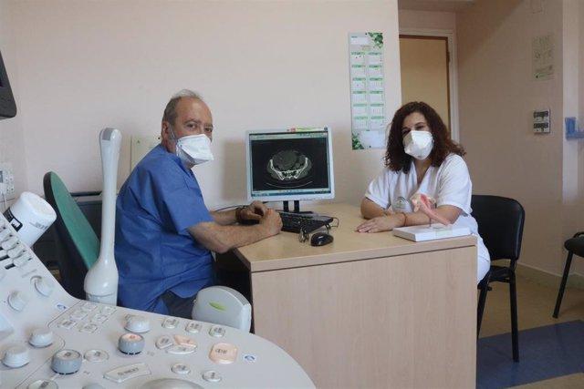 Consulta de atención a pacientes con cáncer de ovario