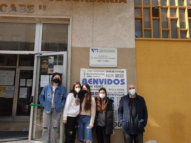 Catro estudantes de Lugo, segundos clasificados na final nacional de Young Business Talents