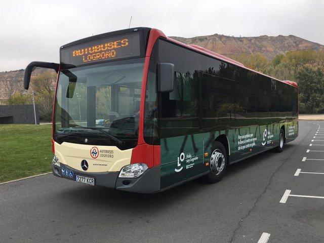 Archivo - Arxiu- Autobús urbà de Logronyo