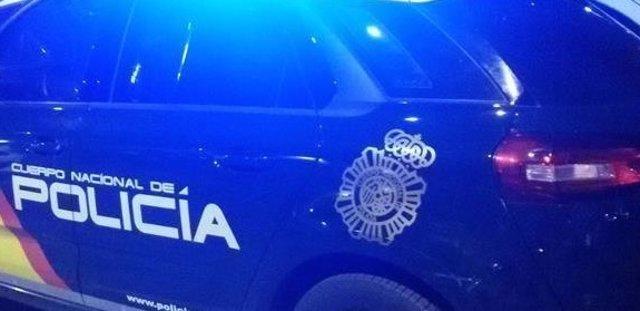 Imatge d'arxiu d'un cotxe de la Policia Nacional