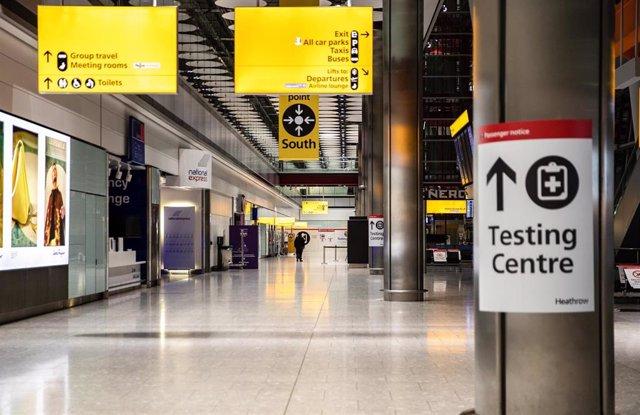Archivo - Aeropuerto de Heathrow, en Londres