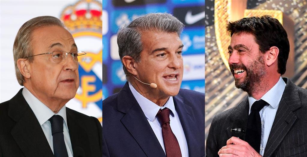 """Real Madrid, Barça y Juventus denuncian las """"inaceptables presiones y amenazas"""" de la UEFA"""