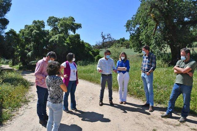 Daniel Sánchez visita la Sierra de Cádiz.