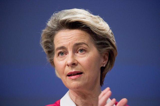 Archivo - Arxiu - La presidenta de la Comissió Europea, Ursula von der Leyen