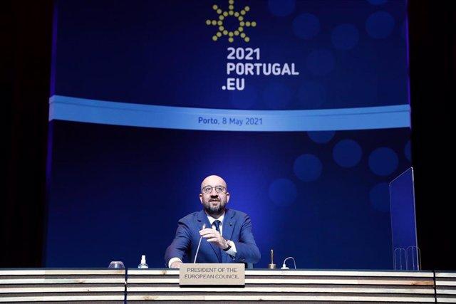 El presidente del Consejo de Europa, Charles Michel