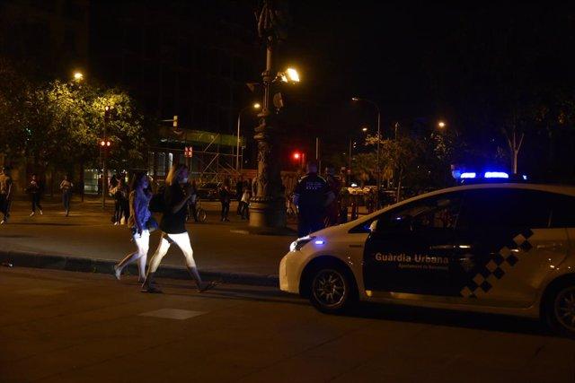 La ciutat de Barcelona durant les últimes hores amb l'estat d'alarma