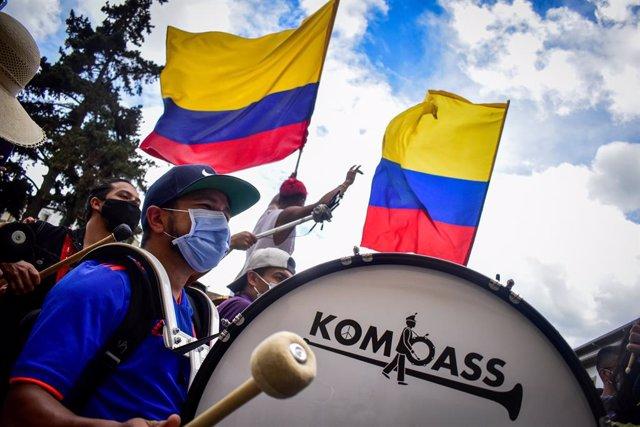 Protestas en Colombia contra la reforma fiscal de Iván Duque