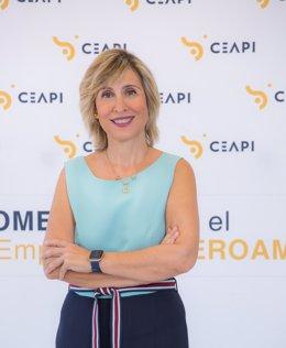 Archivo - La presidenta de Ceapi, Núria Vilanova